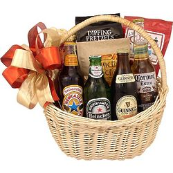Imported Beer Blast Gift Basket