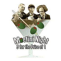 Moetini Night Three Stooges T-Shirt