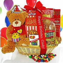 A Birthday Suprise Gift Basket