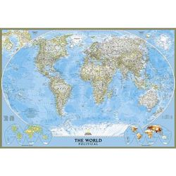 World Political Map Classic Poster Size