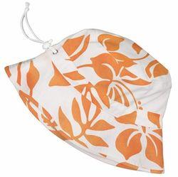 Orange Floral Bucket Hat