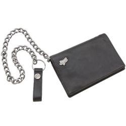 Fox Prowler Leather Billfold Wallet