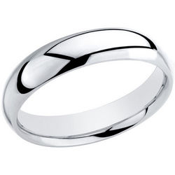 Men's Comfort Fit 4mm Wedding Band