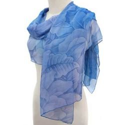 Heavenly Blossoms Silk Scarf