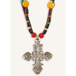 Roatan Relic Cross Necklace