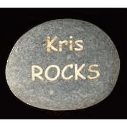 "Personalized ""You Rock"" Rock"