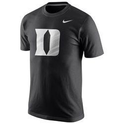 Duke Blue Devils Logo Black T-Shirt