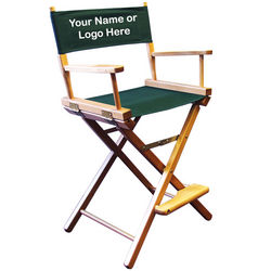 Imprinted Counter Height Director's Chair