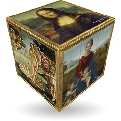 Twisty Renaissance Art Cube Puzzle