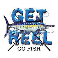 Get Reel-Swordfish T-Shirt