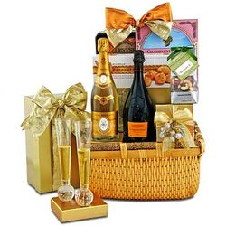 The Ultimate in Luxury Champagne Gift Basket