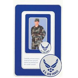 US Air Force New Logo 2-Frame Photo Magnets