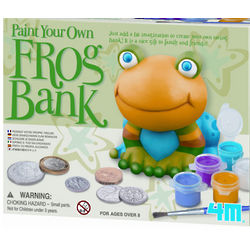 Paint a Frog Bank Kit