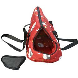 Red Pet Carrier Purse for Small Pets