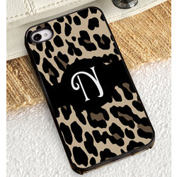 Luscious Leopard iPhone Case with Black Trim