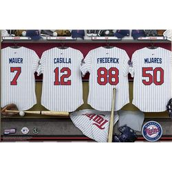 Minnesota Twins 24x36 Locker Room Canvas
