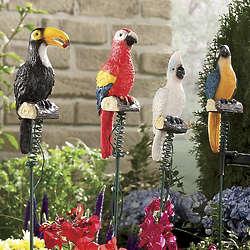 Solar Jungle Birds Garden Lights