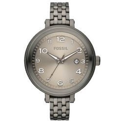 Bridgette Stainless Steel Smoke-Colored Watch