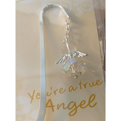 Clear Angel Bookmark