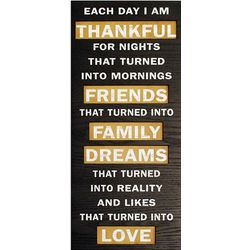 Thankful Sign Wall Decor
