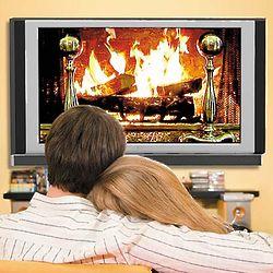 Fireplace Screen Saver DVD