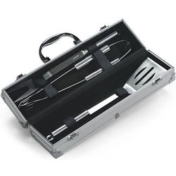 3-Piece Stainless Steel Barbecue Tool Set