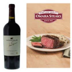 Jack Nicklaus Cabernet and Omaha Steaks Gift Set