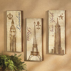 Landmark Wall Decor