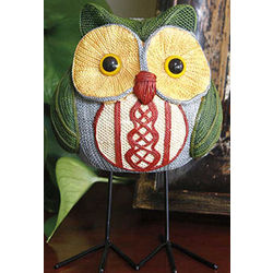 Long-legged Owl Figurine