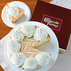 The Cheesecake Factory Dulce de Leche Cheesecake