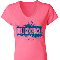 Brad Keselowski #2 Ladies Hot V-Neck Tee