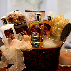 Caramel and Creme Bliss Spa Gift Set