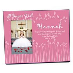 Heart Flower Girl Photo Frame