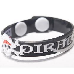 Rubber Pirate Bracelet