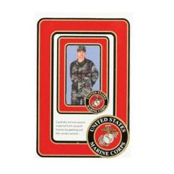 US Marine Corps 2-Frame Photo Magnets
