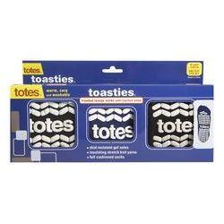 Toasties Men's Slipper Socks 3-Pack