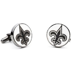 New Orleans Saints Enamel Cufflinks