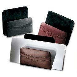 Executive Leather Letter Holder