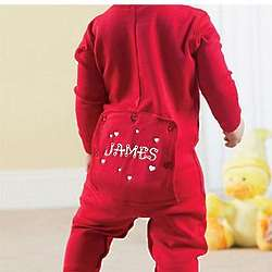 Personalized Valentine Kid's Long Johns