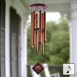 Personalized Welcome To Our Home Wind Chimes