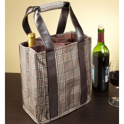Iverness Wine Tote Bag