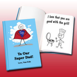 Personalized Father's Day LoveBook