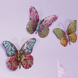 Butterfly Wall Art Set