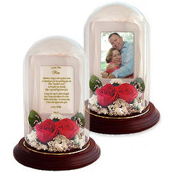 Mother's Day Poetry with Preserved Roses Dome