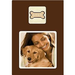 XOXO Dog Bone Wooden Pet Frame