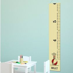 Personalized Circus Monkey Height Chart
