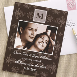 Personalized Photo Wedding Save The Date Cards
