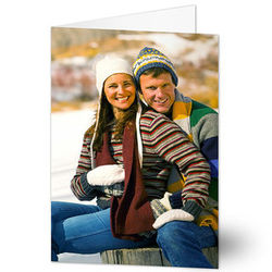 Just Us Vertical Photo Cards and Envelopes