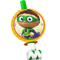 Super Why Party Blowouts
