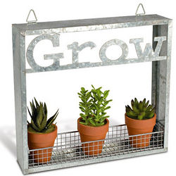 Metal Wall Garden Shelf